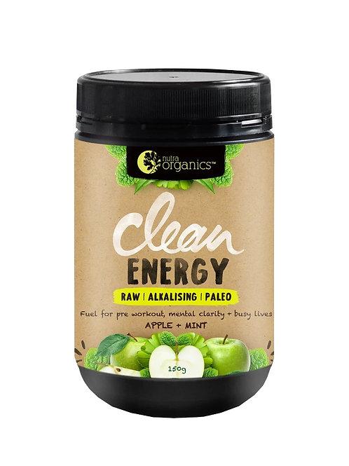 [Batch Expiry July 21] Nutra Organics Clean Energy Apple + Mint (150g)