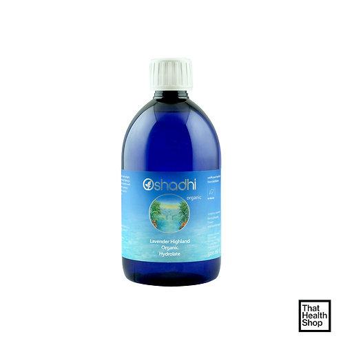 Oshadhi Lavender Highland Organic Hydrolate (500ml)