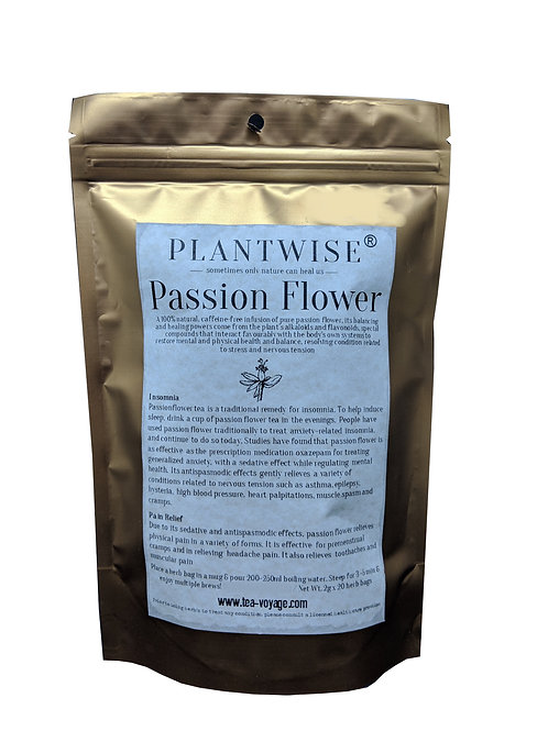 [Batch Expiry June 2021] PLANTWISE Passion Flower (20 herb bags)