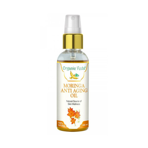 Organic Veda Moringa Anti Aging Oil (100ml)