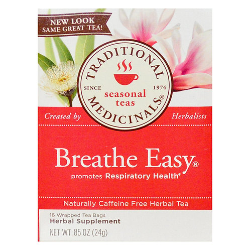 Traditional Medicinals Breathe Easy Tea (16 Sachets)