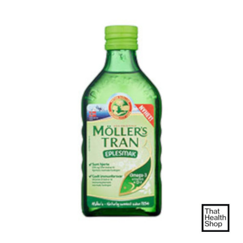 [Batch Expiry - May 2021] Moller's Cod Liver Oil Apple (250ml)