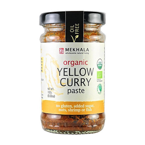 Mekhala Organic Yellow Curry Paste (100g)