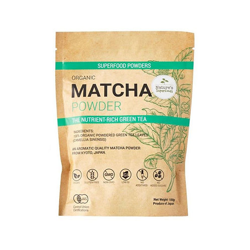 Nature's Superfoods Organic Matcha Powder (100g)