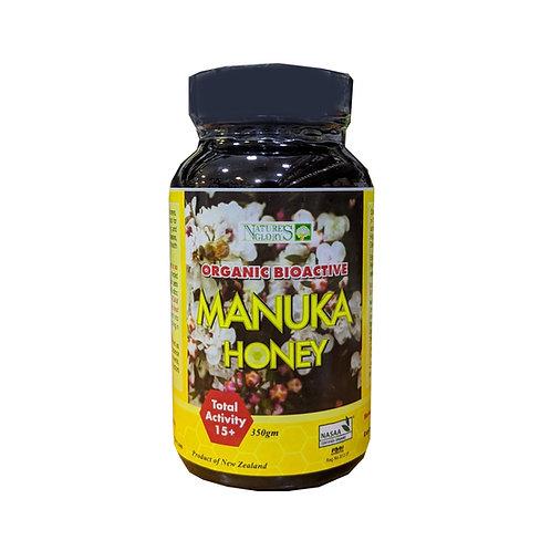 Nature' Glory Organic Bioactive Manuka Honey +15 (350g)