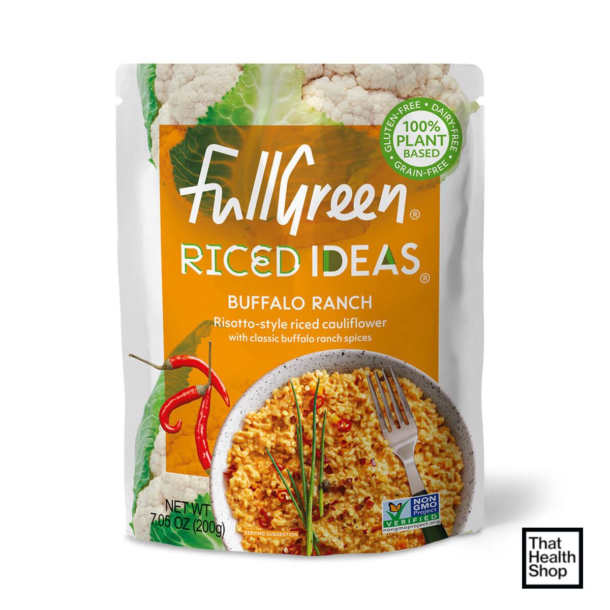 Full Green Riced Ideas Buffalo Ranch 200
