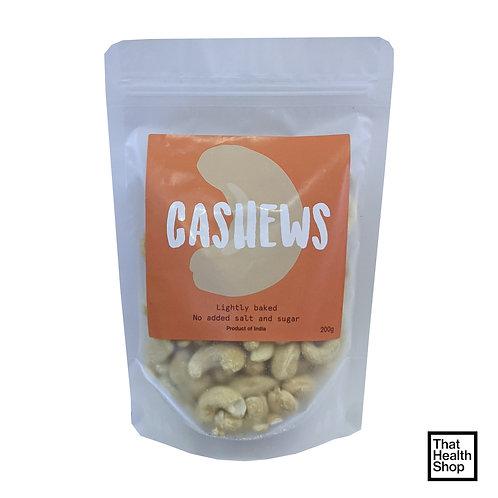 Cashews, Lightly Baked (200g)