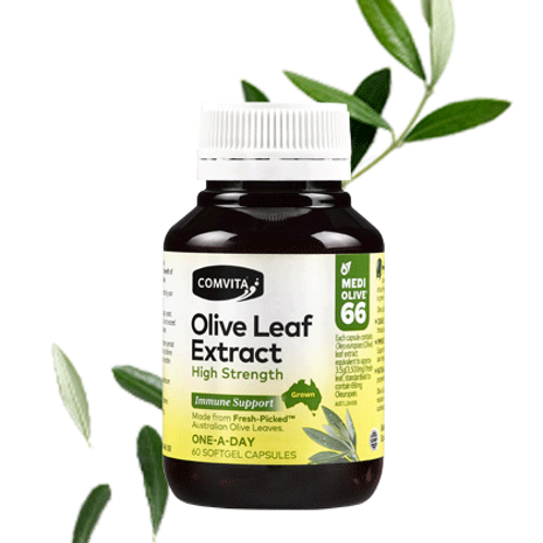 Comvita Olive Leaf Extract High Strength Capsules