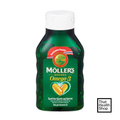 [Batch Expiry - May 2021] Moller's Double Omega-3 (112 Capsules)