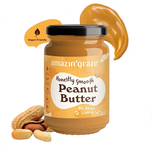 Amazin Graze Honestly Smooth Peanut Butter (350g)