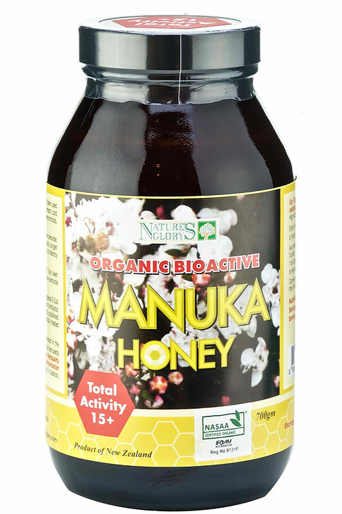 Nature's Glory Organic Manuka Honey Bioactive 15+ 0.7kg