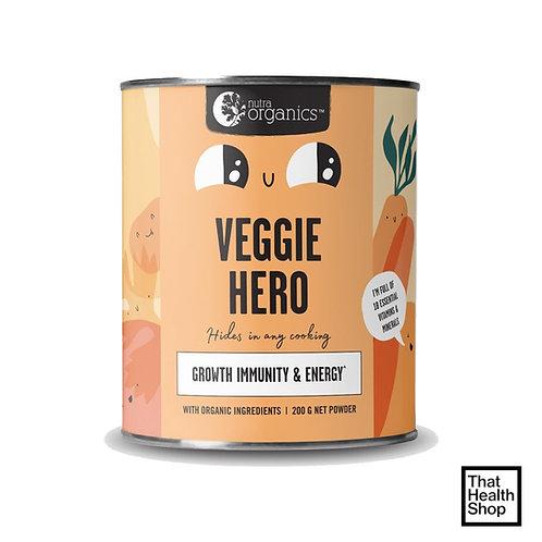 Nutra Organics Veggie Hero -Growth Immunity and Energy 200g