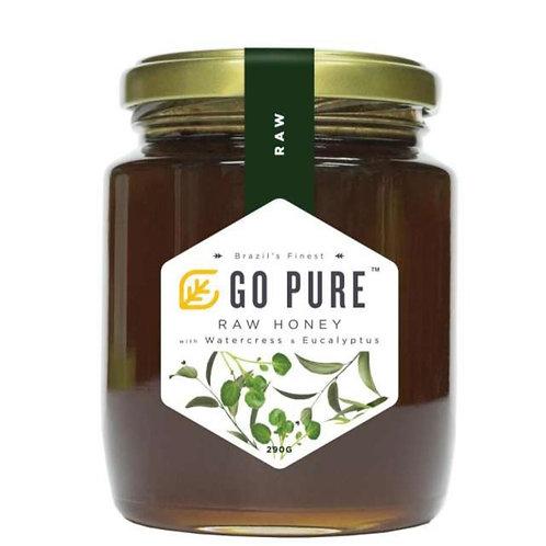 Uniflora® Go Pure Raw Honey with Watercress & Eucalyptus (290g)