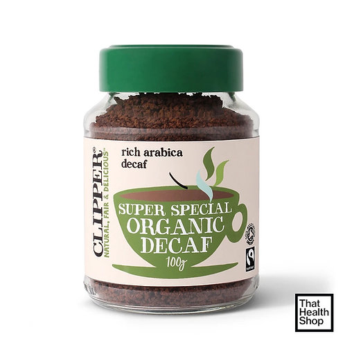 Clipper Super Special Organic Decaf Coffee (Decaf-Green)-100g