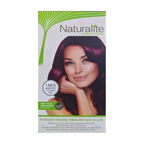 Naturalite Organic Permanent Hair Colour 6.77 (Deep Violet, Dark Blond)