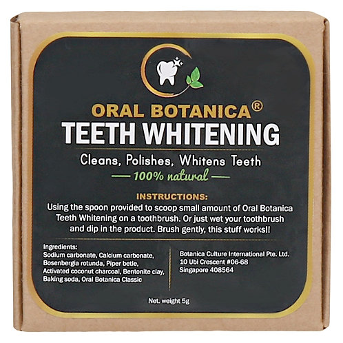 Botanica Culture Oral Botanica Teeth Whitening (5g)