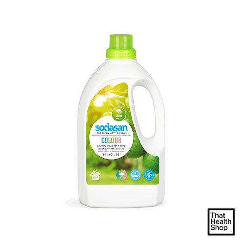 Sodasan Laundry Liquid Colour Lime 1.5L