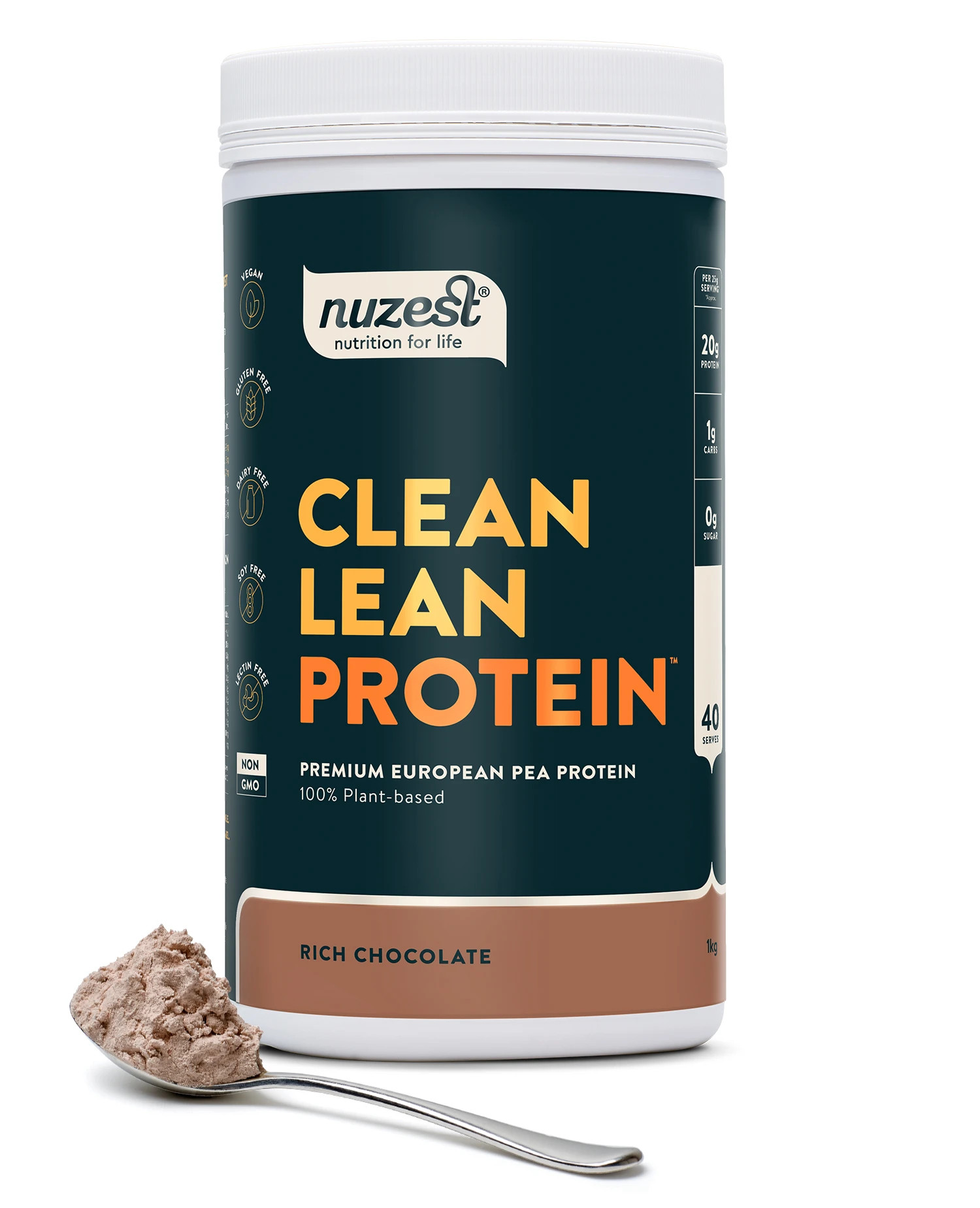 Nuzest Clean Learn Protein Rich Chocolate