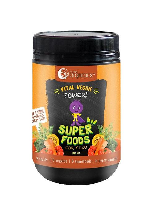 Nutra Organics Vital Veggie Power (150g)