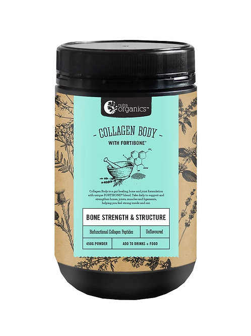 Nutra Organics Collagen Body (450g)