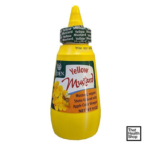 Eden Foods Yellow Mustard (9 Oz)