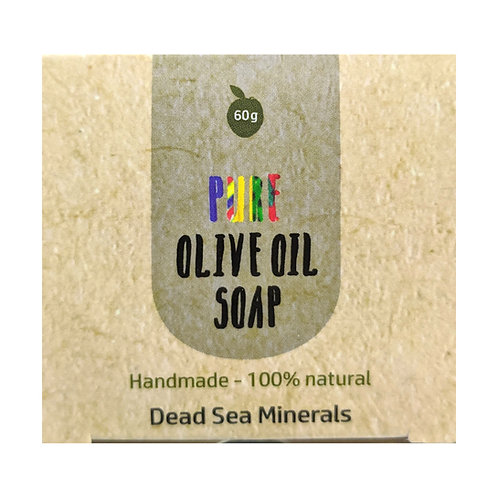Sindyanna of Galilee Pure Olive Oil Soap, Dead Sea Minerals (60g)