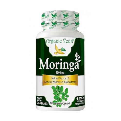 Organic Veda Moringa (120 Capsules)