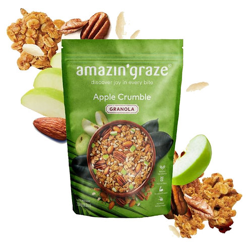 Amazin Graze Apple Crumble Granola (250g)
