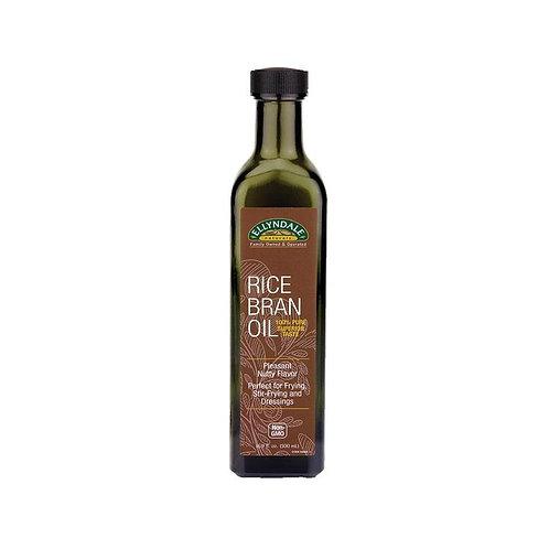 Ellyndale Organic Rice Bran Oil (500ml)