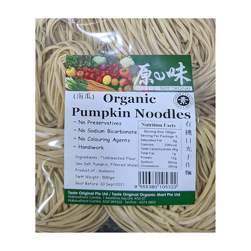 Taste Original Organic Pumpkin Noodles
