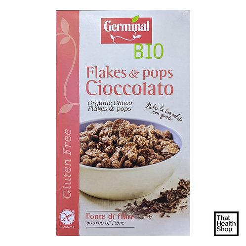 Germinal Bio Flakes and Pops Cioccolato - Organic Choco Flakes and Pops (200g)