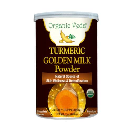 Organic Veda Turmeric Golden Milk Powder (200g)