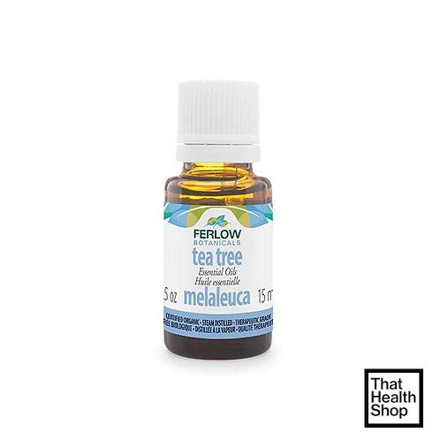 Ferlow Botanicals Organic Tea Tree Oil 15ml