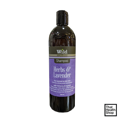 Wild PPC Herbs Herbs and Lavender Shampoo (500ml)