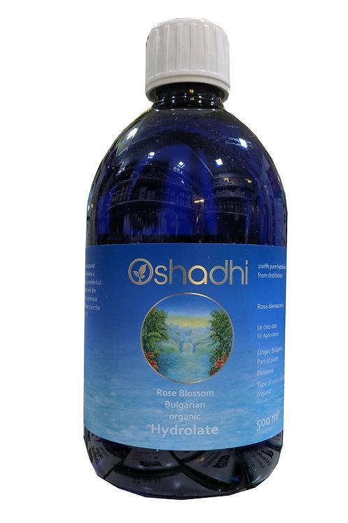 Oshadhi Rose Blossom Bulgarian Organic Hydrolate (Hydrosol) (500ml)