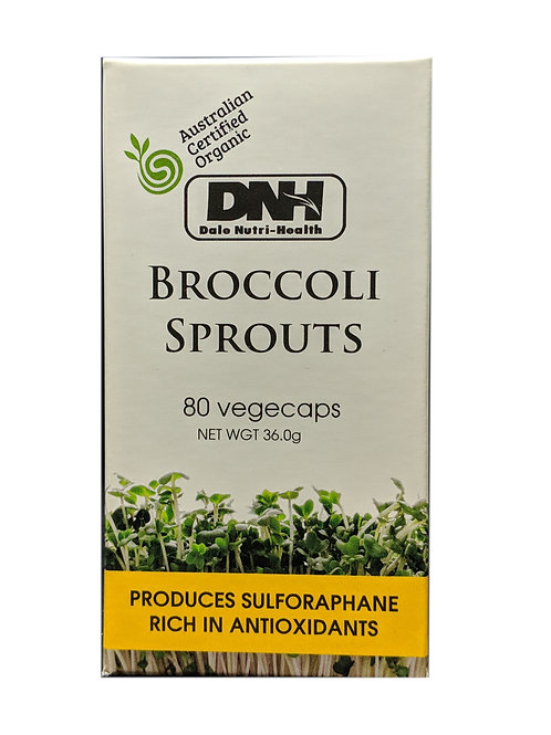 DNH Broccoli Sprouts (80 Vege Caps)