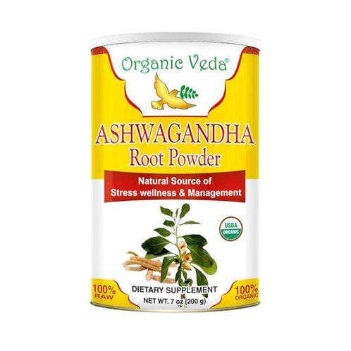 Organic Veda Ashwagandha Root Powder (200g)