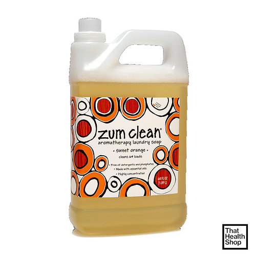 Indigo Wild Zum Clean Laundry Soap Sweet Orange (1.89L)