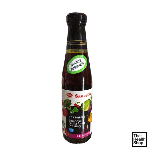 [Clearance - Expires Sep 2020] Sauce Co Japanese Perilla Plum Dressing (240 ml)