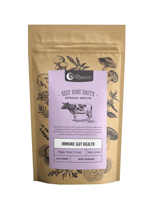Nutra Organics Beef Bone Broth Hearty Mushroom (100g)