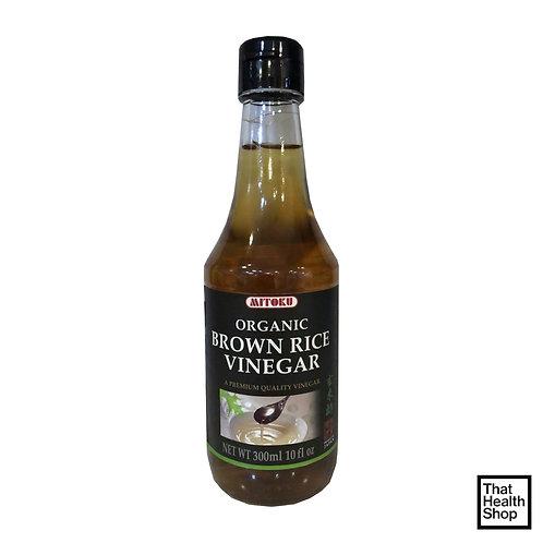 Mitoku Organic Brown Rice Vinegar 300ml