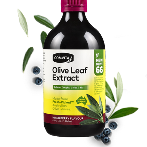 Comvita Olive Leaf Extract Mixed Berry Flavoured (500 ml)