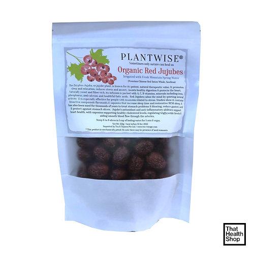 Tea Voyage Plantwise Organic Red Jujubes (150g)
