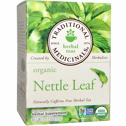 Traditional medicinals Organic Nettle Leaf Tea (16 Sachets)