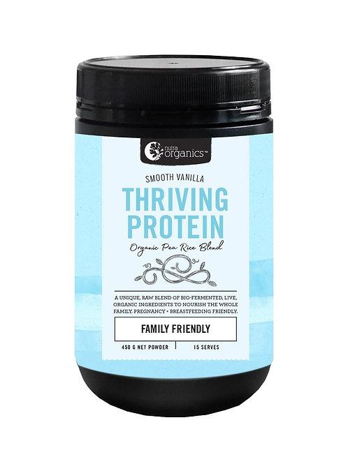 Nutra Organics Thriving Protein Smooth Vanilla (450g)
