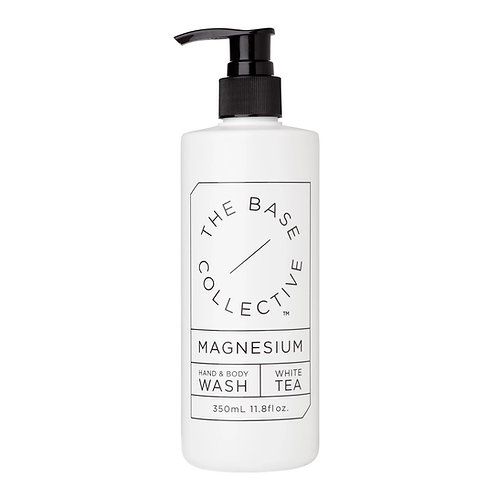 The Base Collective Magnesium and White Tea Hand and Body Wash (350ml)