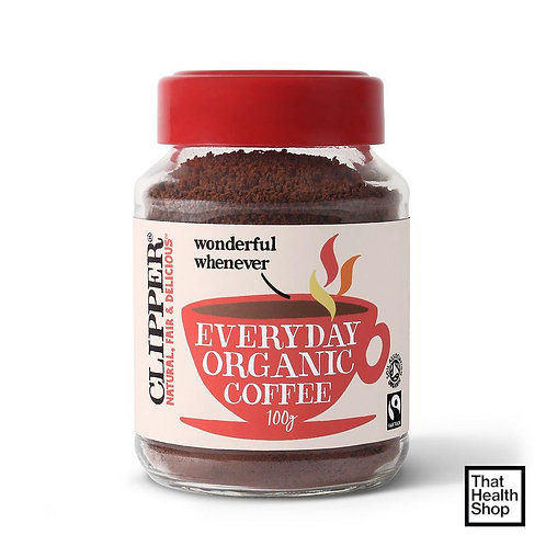 Clipper Everyday Organic Coffee (Red) 100g