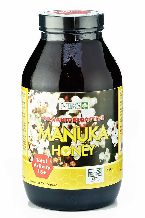 Nature's Glory Organic Manuka Honey Bioactive 15+ 1.4kg