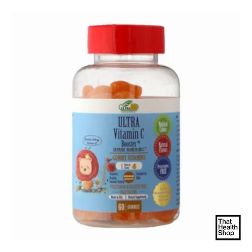Ultra Life Science Ultra Vitamin C Booster(60 Gummies)