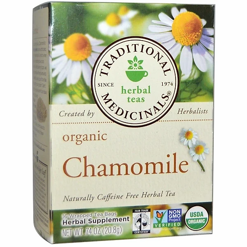 Traditional Medicinals Organic Chamomile Tea (13 Sachets)